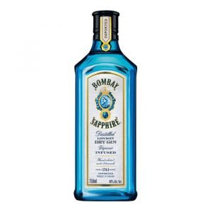 Ginebra Bombay Sapphire Dry Vapour Infused 750 ml